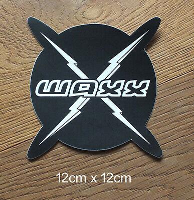 Waxx Lightning Bolt Skateboard Surf Longboard Sticker Aufkleber (S009)