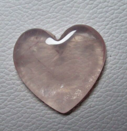 Rose Quartz Cabochon Puffy Heart 74.05 ct Natural Loose Gemstone G 8528
