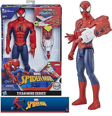 "Marvel Spiderman Titan Hero PowerFX Action Figure New ""Free Shipping"""