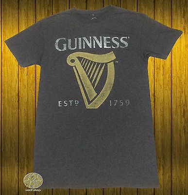 New Guinness Beer Stout Vintage Throwback Mens T Shirt