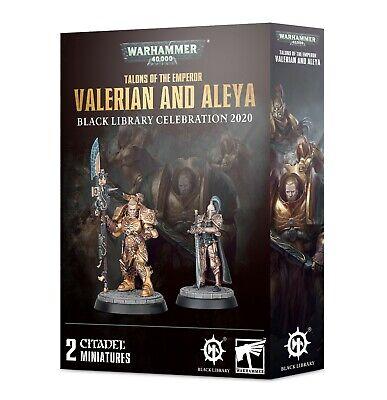 Talons of the Emperor: Valerian and Aleya Warhammer 40K NIB Black Library 2/29!