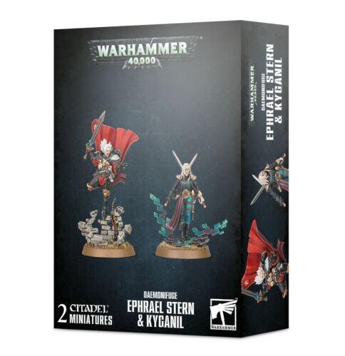 Daemonifuge Ephrael Stern & Kyganil Warhammer 40K NIB PRESALE SHIPS 7/3!