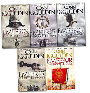 Emperor Series Collection 5 Books Set - Conn Iggulden
