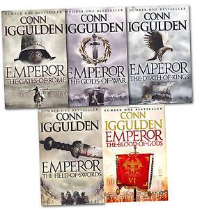 Emperor Series Collection 5 Books Set - Conn Iggulden