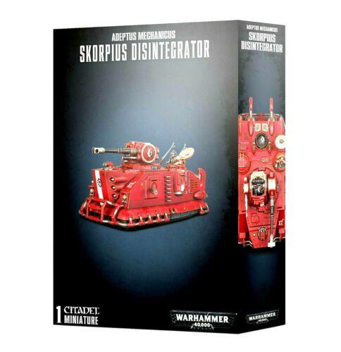 >>  Adeptus Mechanicus Skorpius Disintegrator or Duneride Warhammer 40k NIB!