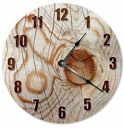 KNOT IN WOOD Tree Clock - Large 10.5 Wall Clock - 2184