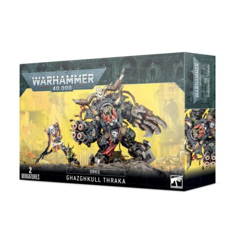 Ghazghkull Thraka Orks Warhammer 40K NEW SHIPS