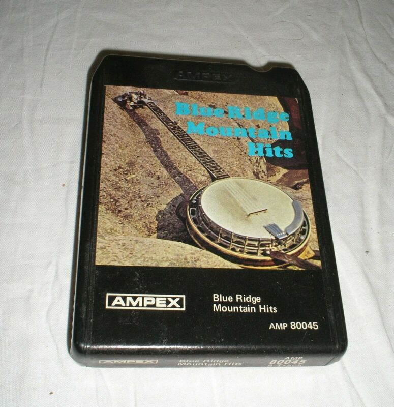 Blue Ridge Mountain Hits - 8 Eight Track Tape