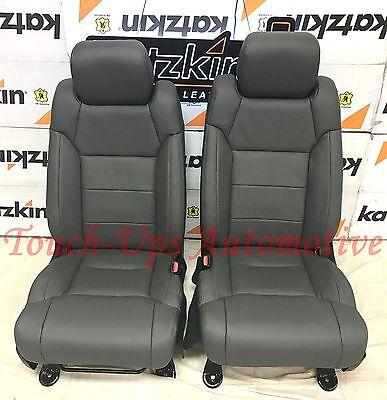 2014 2015 2016 2017 Toyota Tundra CrewMax KATZKIN Charcoal Leather Seat Heaters