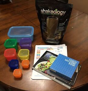 21 day Fix containers and Shakeology