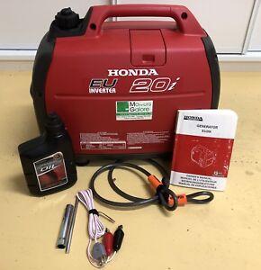 Honda EU20i Generator 2kva Hardly Used