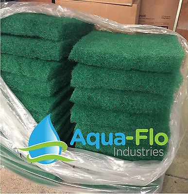 Aqua-Flo Two-Pack Green Pond Filter Mat/Media/Pad 12