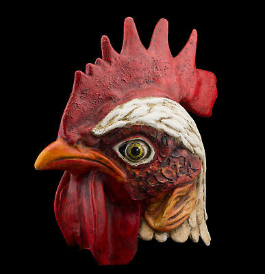 Rooster Large Mask Venice Helmet handmade paper mache Top quality 2489