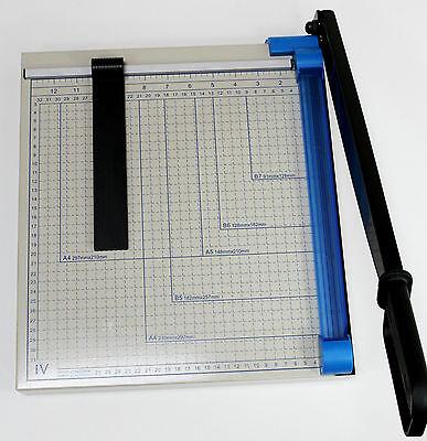 Hebelschneider aus Metall, Papierschneider A4, Schneidemaschine Fotoschneider