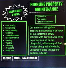 Highline lawnmowing & Property maintenance Abbotsbury Fairfield Area Preview