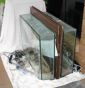Two large fish tanks Palmwoods Maroochydore Area Preview