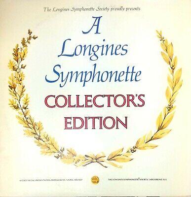 A Longines Symphonette Collector's Edition Vintage Vinyl Record LP VG+ LW 186B