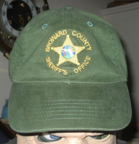 Broward Sheriff Fla FL State of Florida Police Baseball Law Enforcement Cap Hat