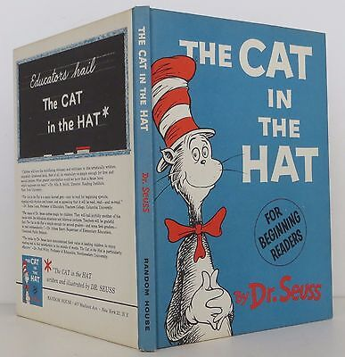 DR. SEUSS (THEO LESIEG) The Cat in the Hat TRUE FIRST EDITION