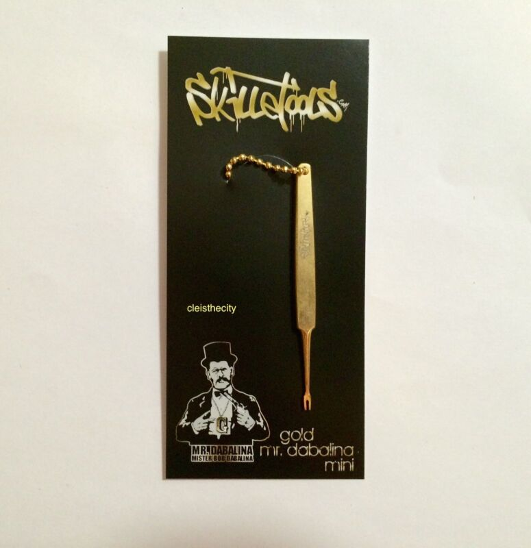 """Skilletools Mini Gold """"Mr. D"""" Fork Tool - Skillet Tools"""
