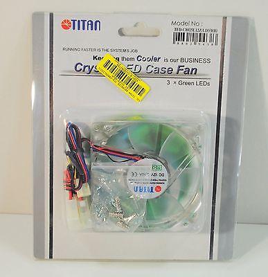 Led Case Fan (TITAN - Crystal LED Case Fan - Z axis Bearing - 2000 RPM - 12 V - 0,23 dBA - L)