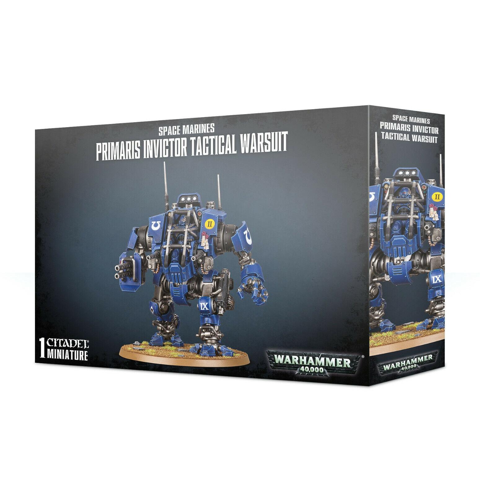 Primaris Invictor Tactical Warsuit Space Marine Warhammer 40K