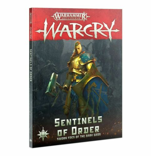 Warhammer Age of Sigmar Warcry Sentinels of Order NIB