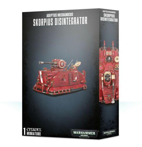 Warhammer 40k Adeptus Mechanicus Skorpius Disintegrator or Dunerider NEW in BOX