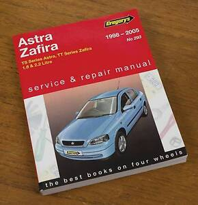 Gregory's Astra TS Workshop Manual No.293 Coopers Plains Brisbane South West Preview