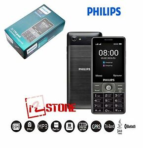 Mobile Cell Phone Philips Xenium E570 Dual SIM Unlocked Xtra Life 170 days