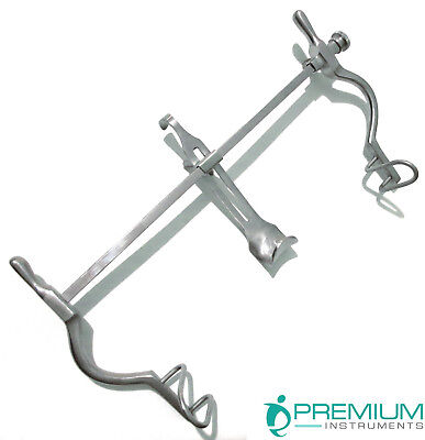 Surgical Balfour Retractor 7.5 Fenestrated End Gyno Veterinary Instruments