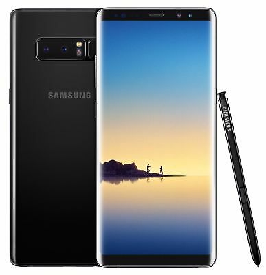 Samsung Galaxy Note 8 - N950U - Black (Verizon + GSM Unlocked; AT&T / T-Mobile)