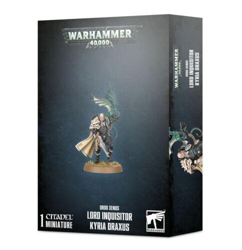 Lord Inquisitor Kyria Draxus Warhammer 40K NIB PRESALE SHIPS 7/3!