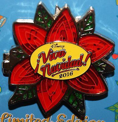 Disney DCA 2016 Viva Navidad Three Caballeros Donald Jose Panchito LE Pin NEW OC
