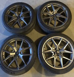 "19"" FAST Wheels like new with Michelin PS4S tires 5x114.3mm"