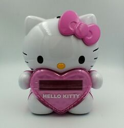 Hello Kitty Projection AM/FM Clock Radio KT2064 Alarm Snooze Button Sanrio Kids