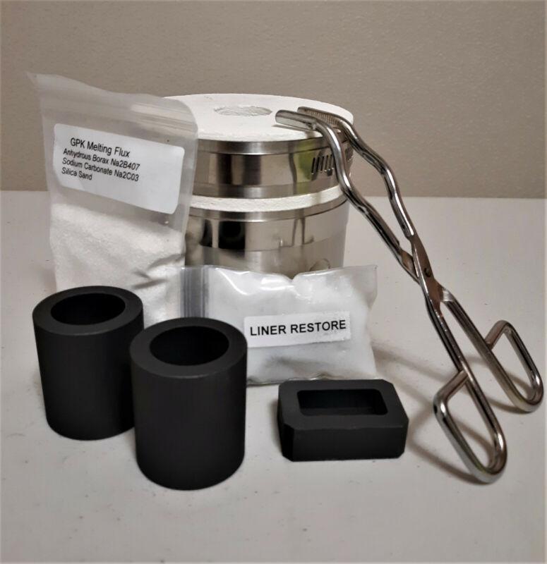 Kwik Kiln II Mini Propane Furnace For Melting Gold Silver and Copper