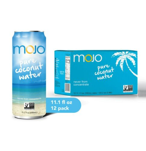 MOJO Pure Coconut Water (12Pack)