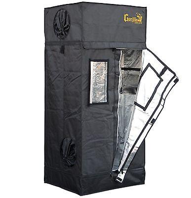 Gorilla Grow Tent Lite Line 2' x 2.5' Hydroponic Greenhouse Garden Room| GGTLT22