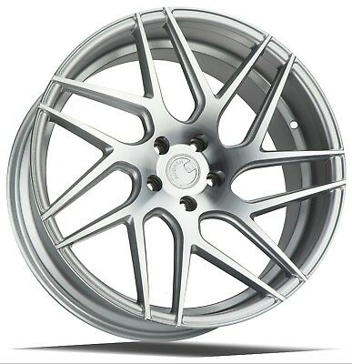 AodHan LS008 18x8 +35 5x114.3 Silver Machined  (Set of 4)