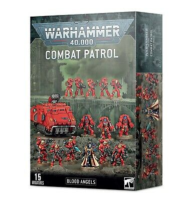 Combat Patrol Blood Angels Space Marines Warhammer 40K NIB