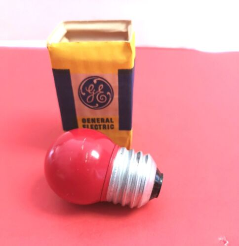 2-PK BMS 7.5S/2R Red Dark Room Photo Projection LIGHT BULB LAMP Projector NEW GE