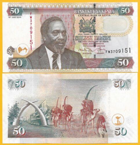 Kenya 50 Shillings p-47e 2010 UNC Banknote