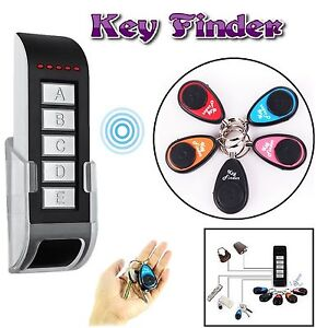 5 in 1 Anti-Lost Electronic Key Finder Wireless Remote Locator Receiver Alarm UK