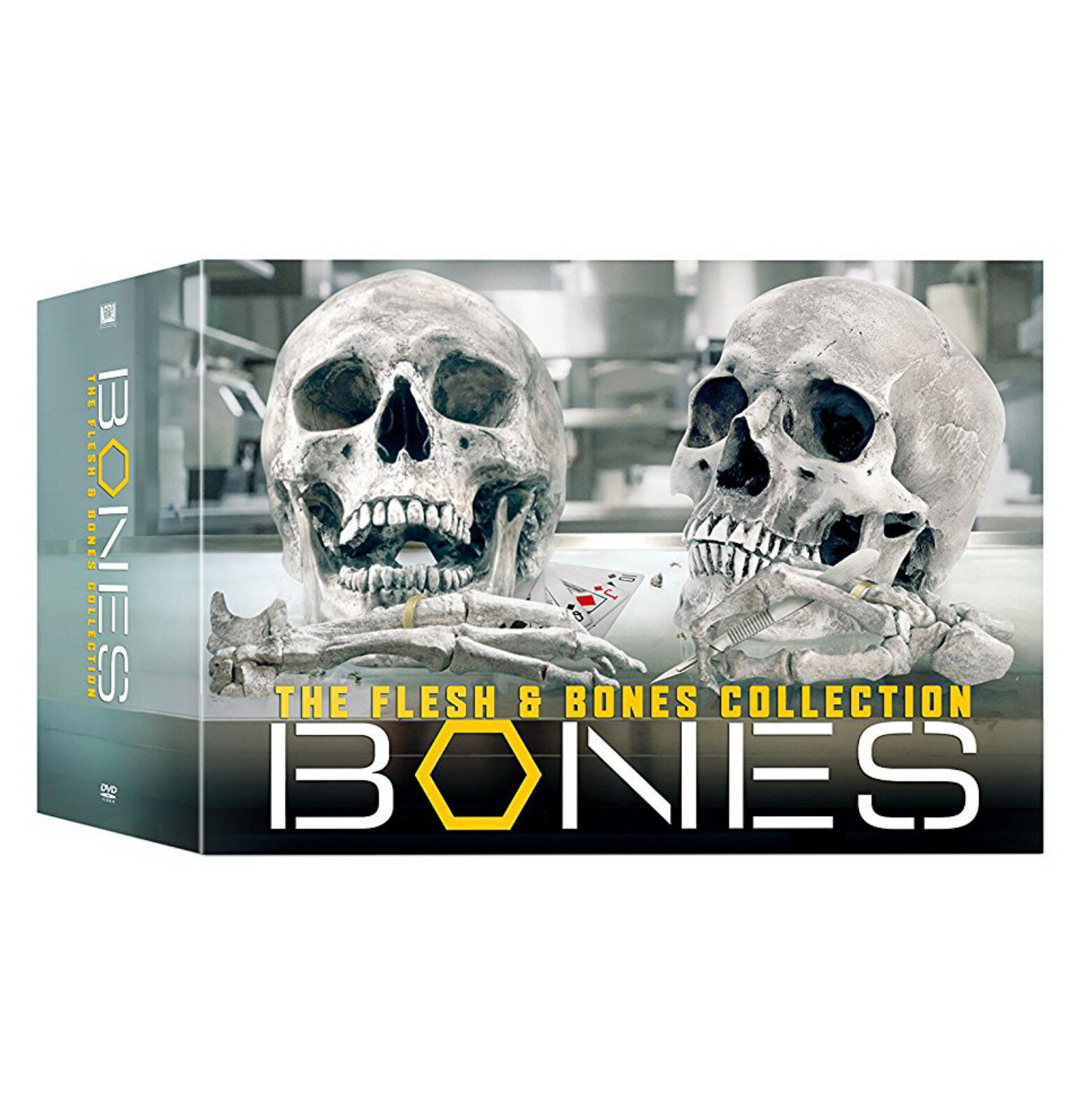 Bones: The Flesh & Bones Complete Series Collection DVD Box Set Season 1-12 NEW