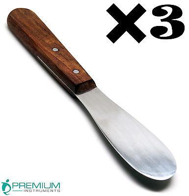 3 Dental Lab 8 Spatula 11r Plaster Alginate Mixing Premium Instruments