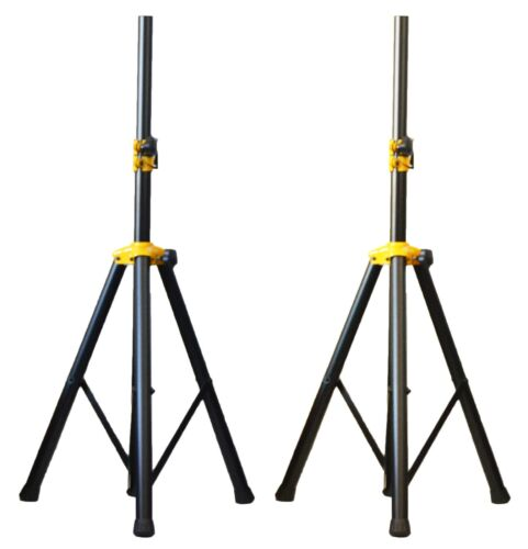 Pair of Ignite Pro Tripod DJ PA Speaker Stands Adjustable He