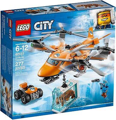 LEGO City 60193 - Aereo Da Trasporto Artico NUOVO