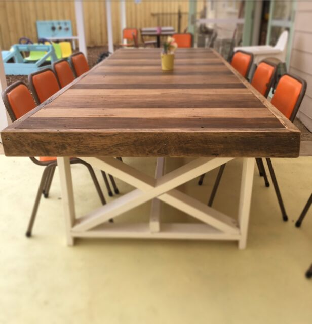 Reclaimed Timber Outdoor Table