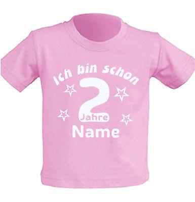 Mädchen Shirt Geburtstag (Kinder T-Shirt zweiter Geburtstag 2 jahre alt Junge Mädchen Party Feier Geschenk)